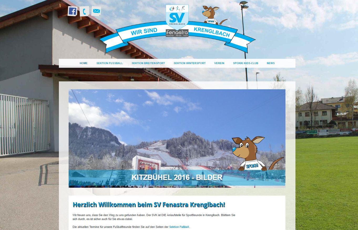 Neue Webseite des SVK