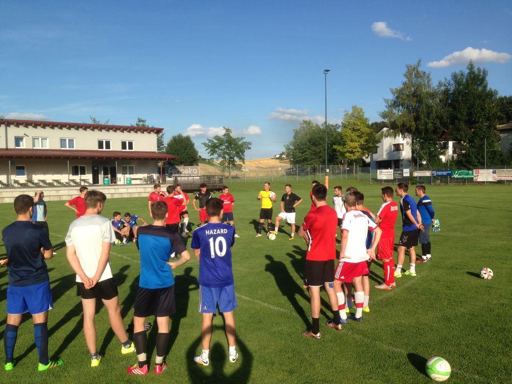 Erstes Training Saison 2016/2017