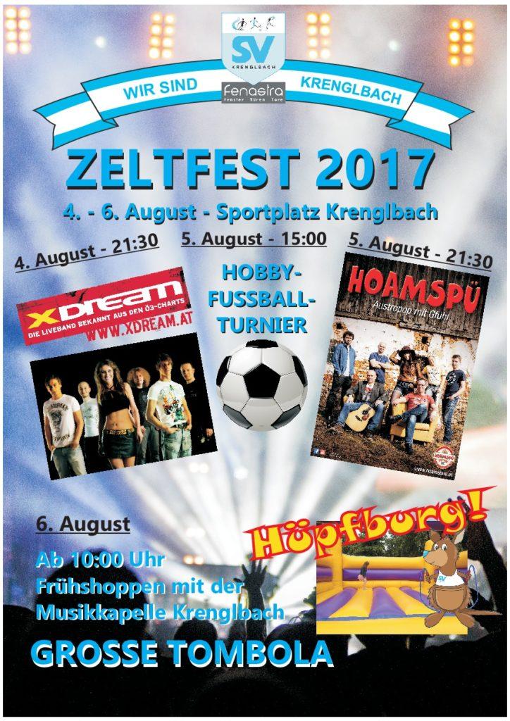 Zeltfest Krenglbach 2017