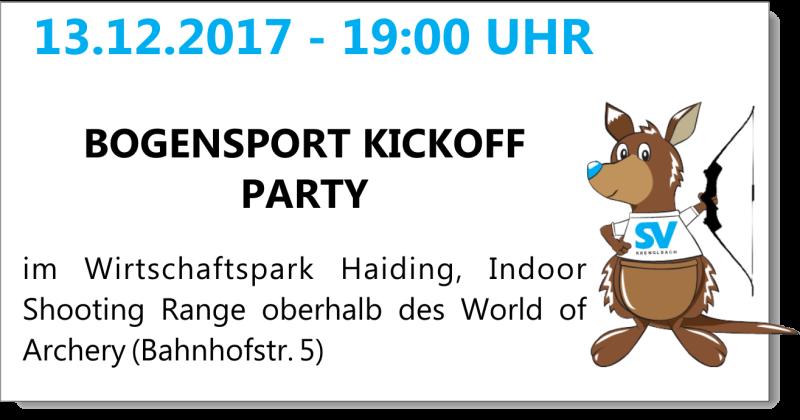 Bogensport Kickoff Party SVK