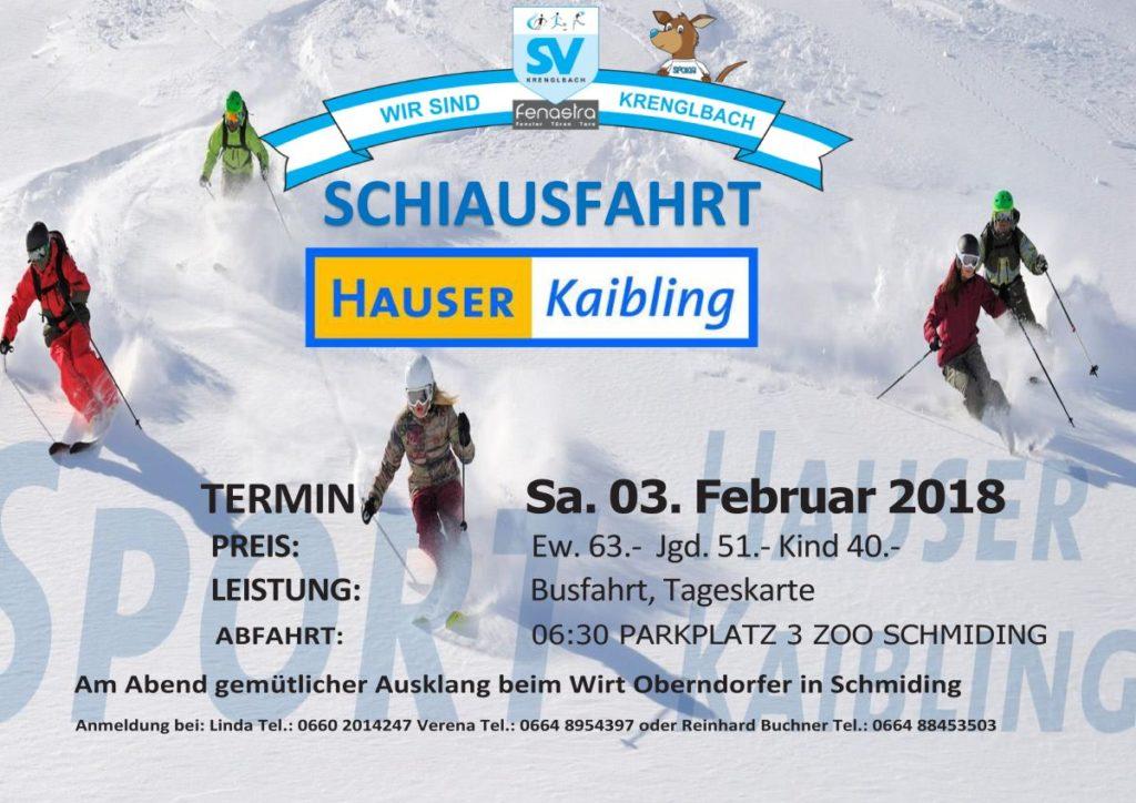 ausflug Hauser Kaibling 2018