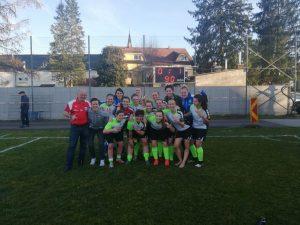 Sieger! SV Fenastra Krenglbach Frauen schlagen Kleinmünchen 1B 1:0!