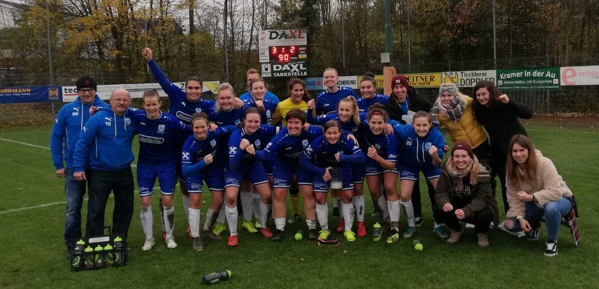 SV Krenglbach Damen schlagen Wacker Innsbruck