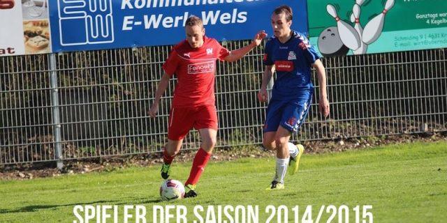 Spieler der Saison 2014/2015