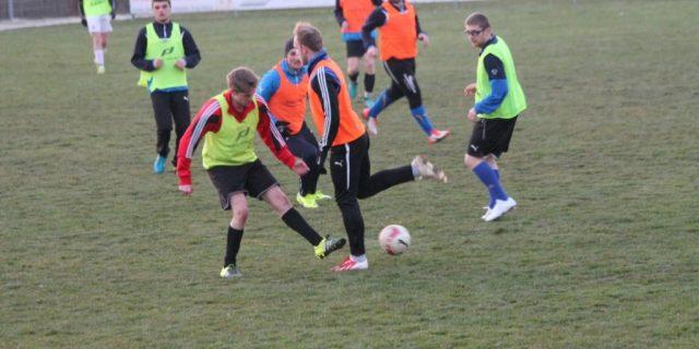 Letztes Training vor dem Start der Meisterschaft
