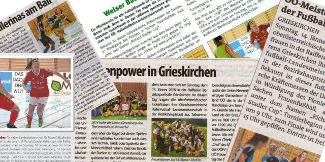 17. Richard Stadler Cup – SVK Ladies im Hallenfieber