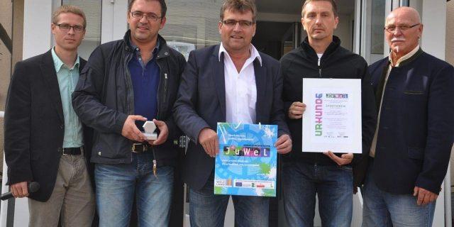 SVK erhält JUWEL-Auszeichnung