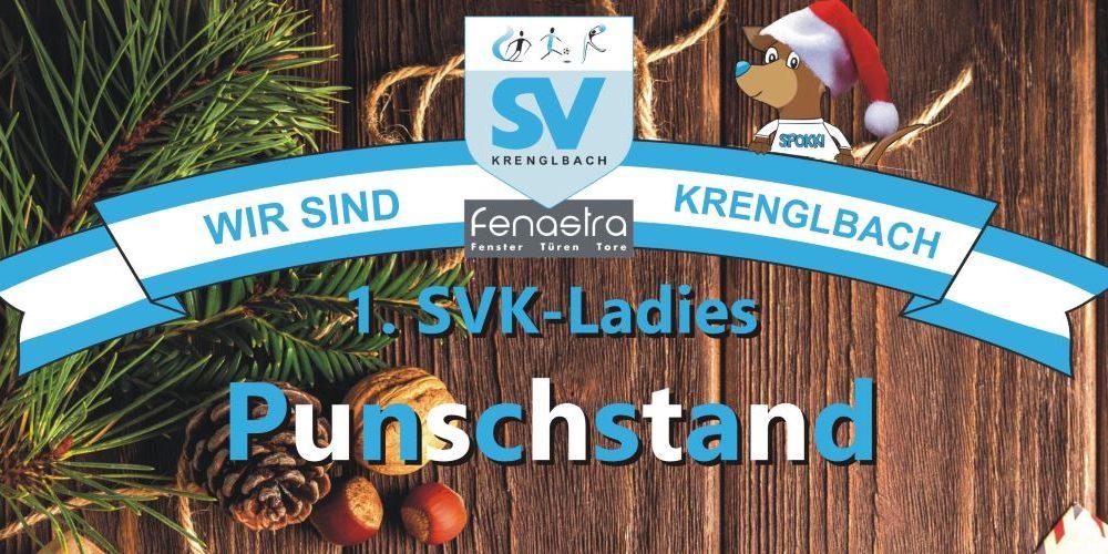 1. SVK-Ladies Punschstand
