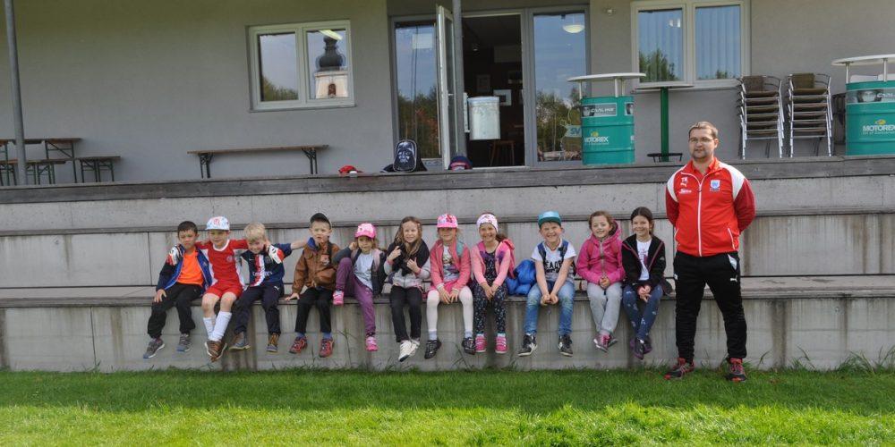 Schnuppertraining mit dem Kindergarten