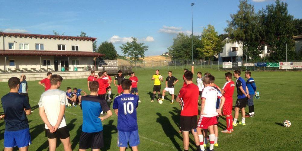 Aufbauspiel gegen WSC Hertha Wels