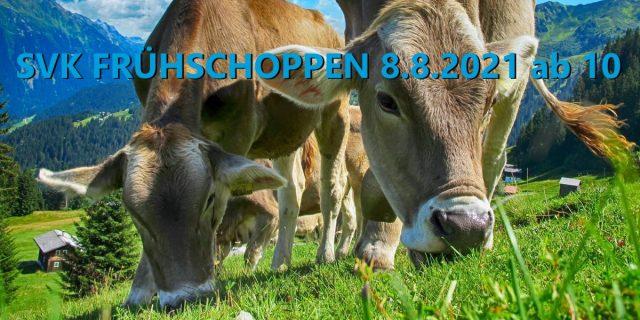 SVK Frühschoppen am Sonntag 8.8. ab 10 Uhr